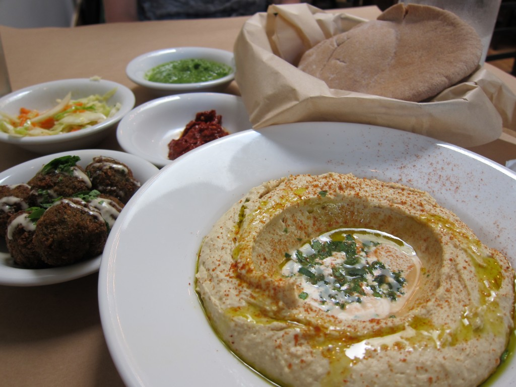 Inside Oren's Hummus. Photo: kennejima / flickr