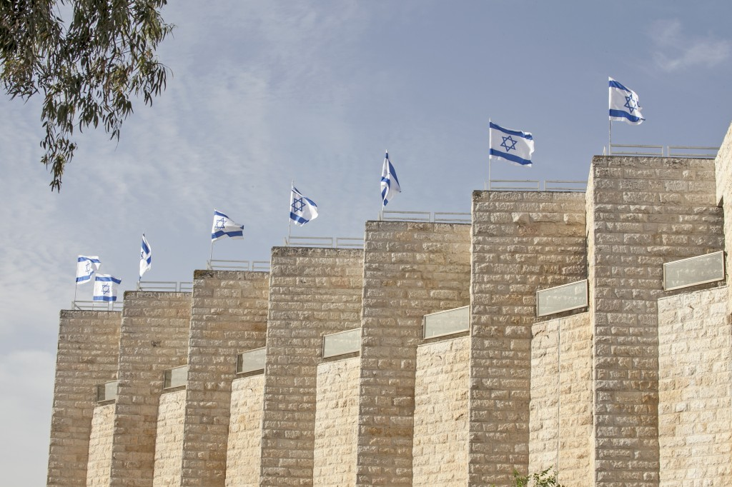 Flags fly during Israeli Independence Day. Photo: zeevveez / flickr