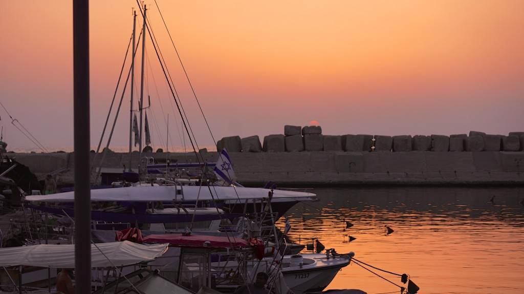 The Jaffa waterfront at sunset. Photo: Ted Eytan / flickr
