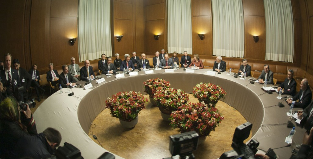 Image from the P5+1 negotiations in Geneva regarding Iran's nuclear program. Photo: U.S. Department of State / Wikimedia