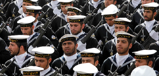 iran troops