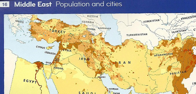Bowing to local preferences harpercollins omits israel from maps europe gumiabroncs Gallery