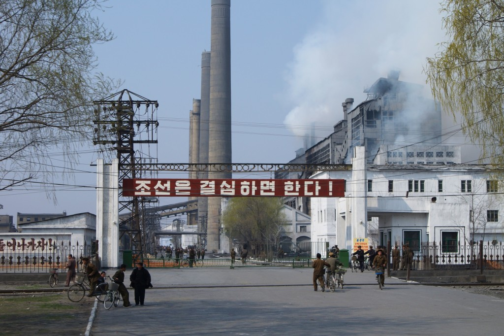 A factory in Hamhung, North Korea. Photo: Joseph Ferris III / Wikimedia
