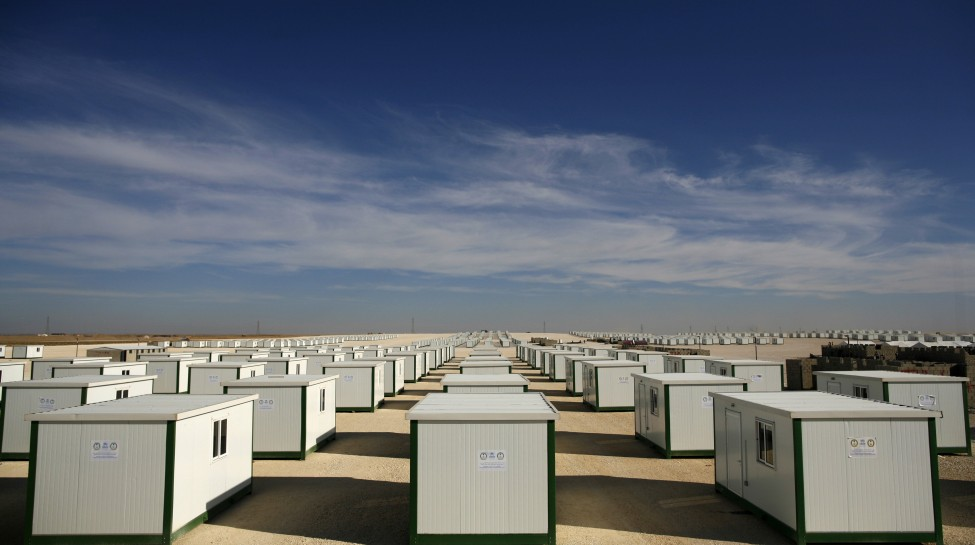 The Za'atari refugee camp in Jordan. Photo: B. Sokol / UNHCR / flickr