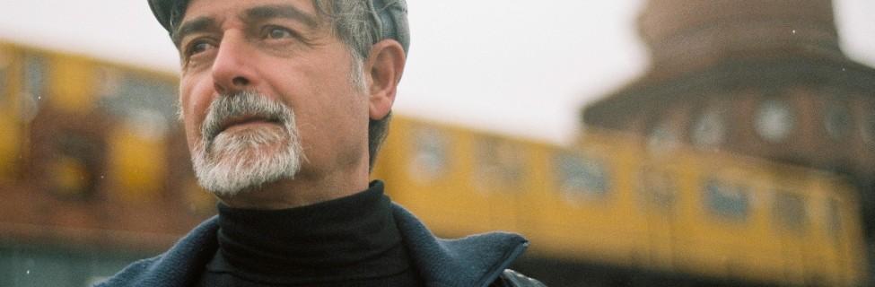 The Israeli poet Admiel Kosman is based in Germany. Photo: Noam Rosenthal