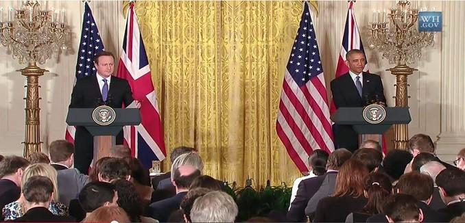Cameron Obama Press Conference