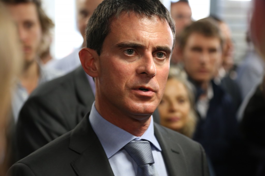 French Prime Minister Manuel Valls. Photo: Briand / Wikimedia
