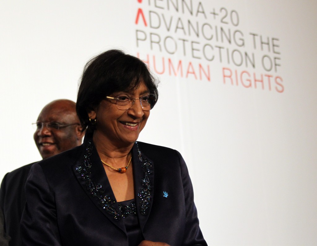 Navi Pillay. Photo: Austrian Foreign Ministry / flickr
