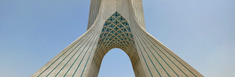 The Azadi Tower, Tehran. Photo: Christiaan Triebert / flickr