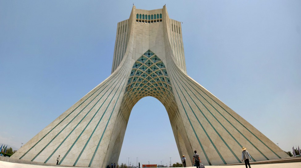 The Azadi Tower, Tehran. Photo: Christiaan Triebert / flickr