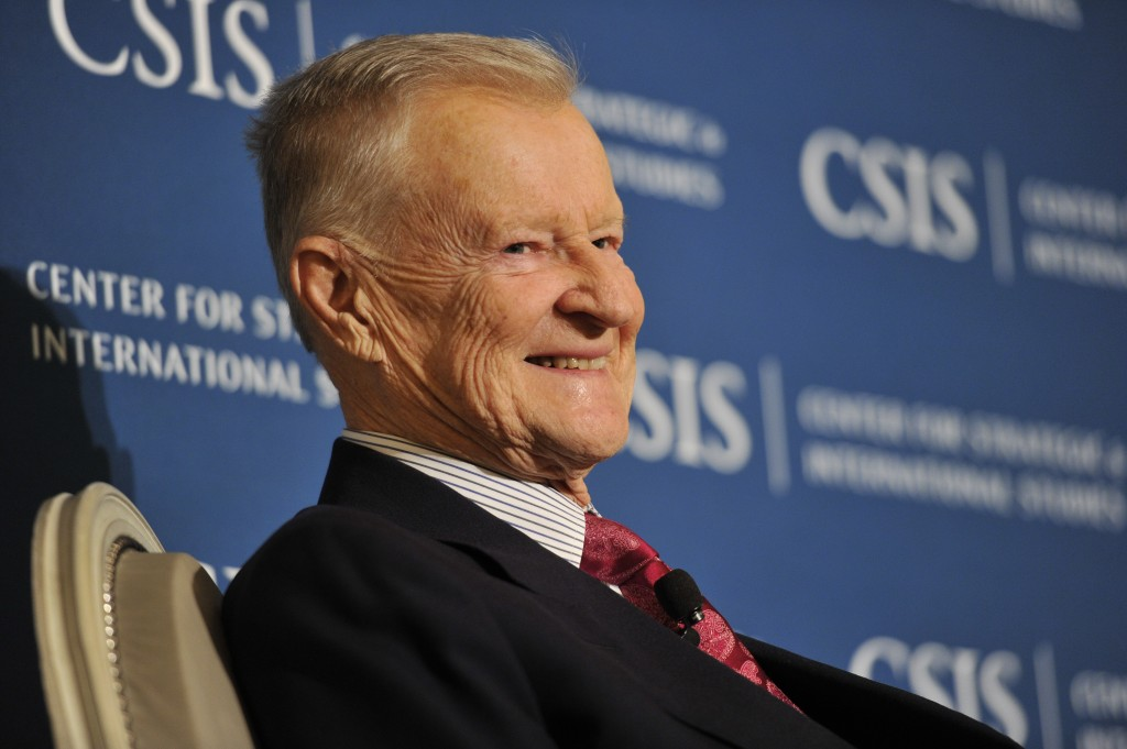"Zbigniew Brzezinski speaks about ""America and the Crisis of Global Power"" at the Center for Strategic and International Studies. Photo: Center for Strategic and International Studies / flickr"