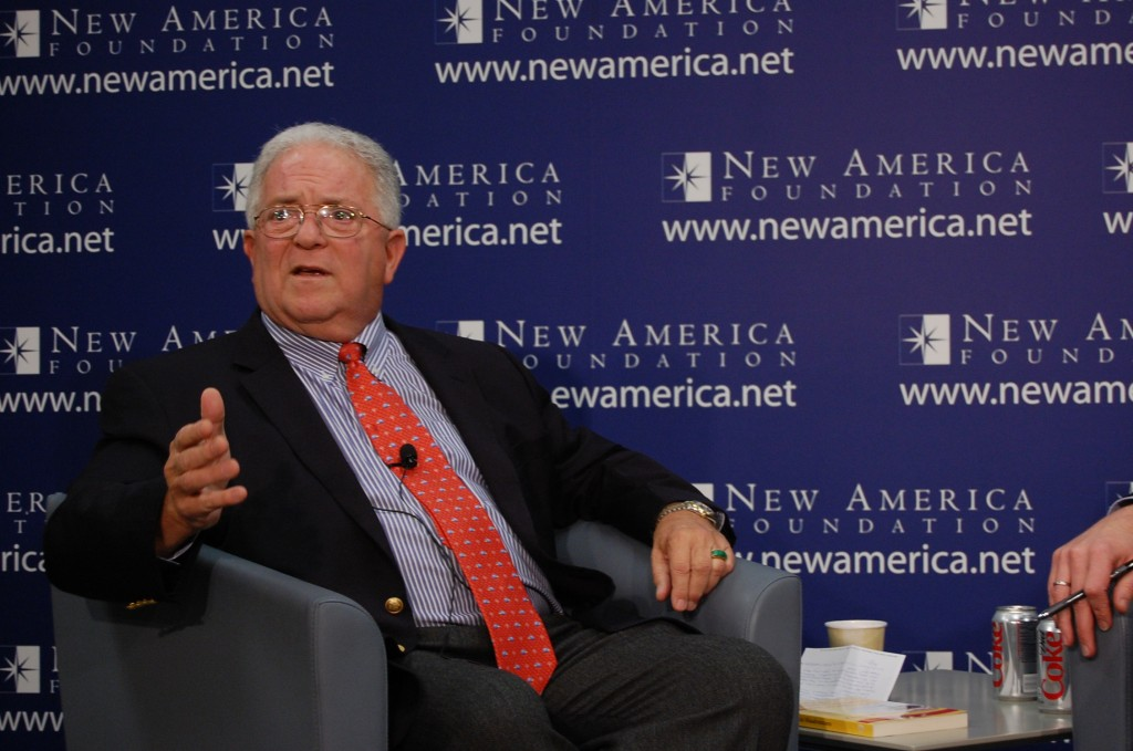 Chas Freeman speaks at the New America Foundation. Photo: New America Foundation / flickr
