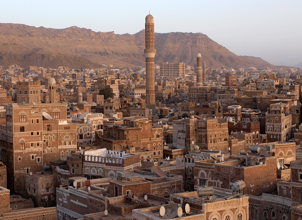 The Old City of Sana'a, Yemen. Photo: Antti Salonen / Wikimedia