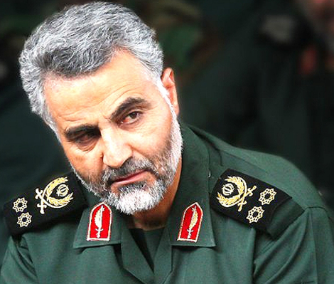 IRGC-Quds Force commander Qassem Suleimani. Photo: Fars News Agency / Wikimedia