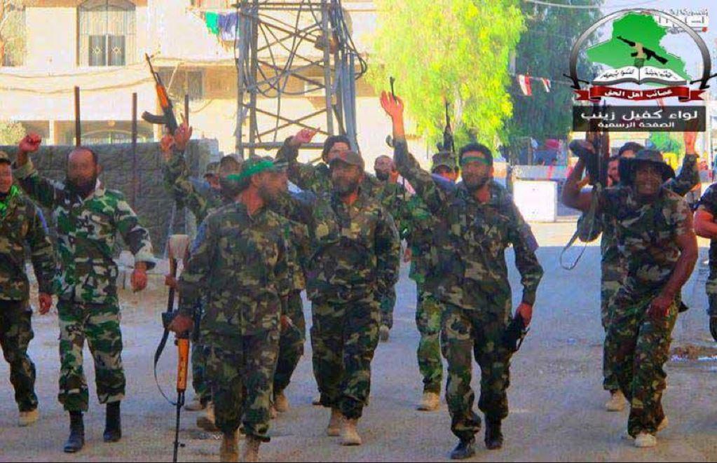 Asaib Ahl al-Haq fighters. Photo: StanTheMan87 / Wikimedia