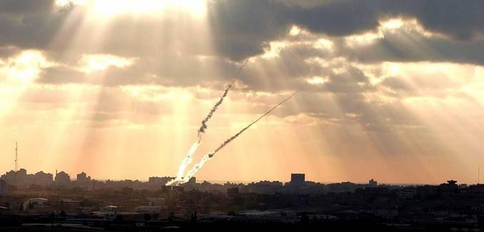 2 qasam rocket up from gaza to sderot