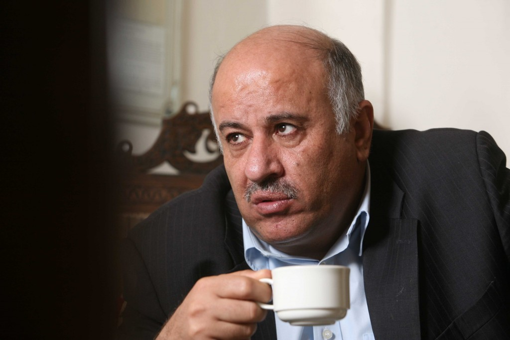 Palestinian Football Association president Jibril Rajoub. Photo: Nati Shohat / Flash90