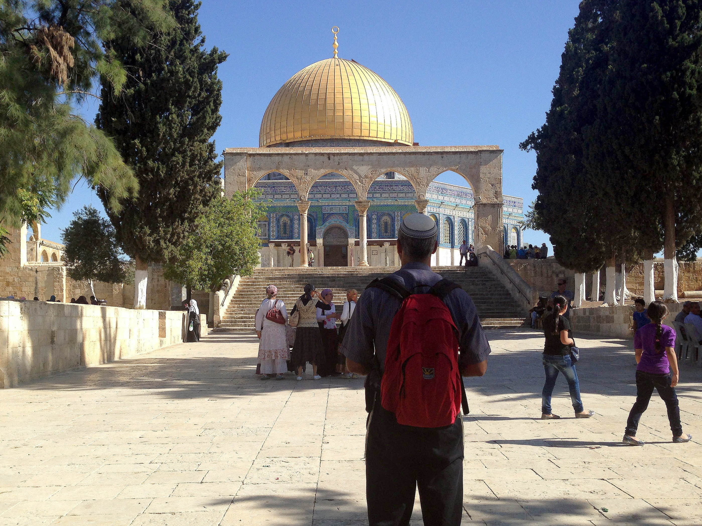 Temple Mount: A History. The Mystery of the Temple Mount What is the name of the Muslim shrine on the temple mount 6