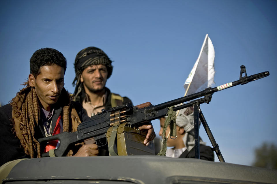Houthi rebels. Photo: Hello World Media / flickr