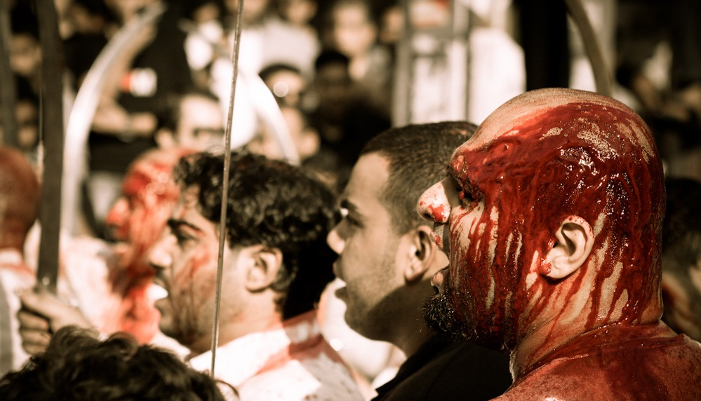 An Ashoura ceremony in Bahrain. Photo: Allan Donque / flickr