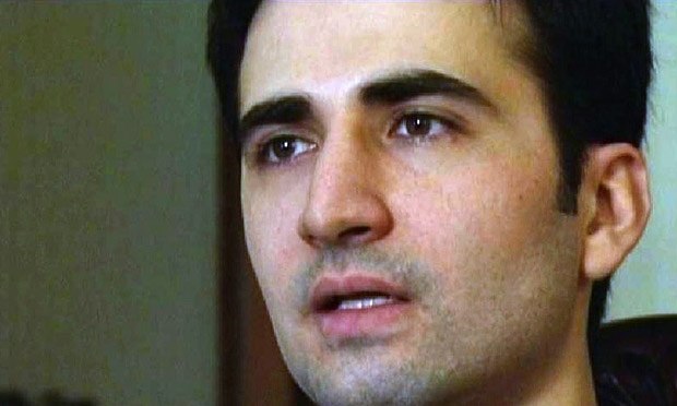 Amir Hekmati interviewed on Iranian state TV in 2011. Photo: Islamic Republic of Iran Broadcasting
