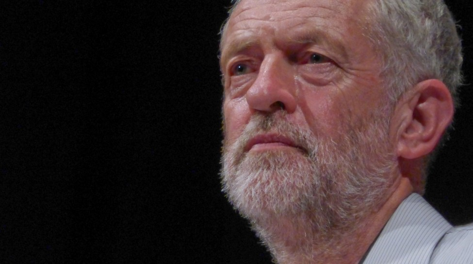 Jeremy Corbyn speaks at a campaign event in West London, August 17, 2015. Photo: Steve Eason / flickr