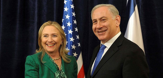 FeaturedImage_FeaturedImage_2015-11-05_Flash90_Hillary_Clinton_Netanyahu