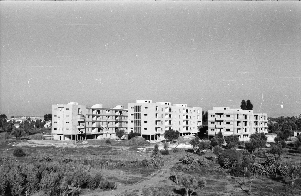 The city of Lod was quickly developed in response to the wave of Jewish refugees from Arab countries. Photo: Mihael Almagor / Wikimedia