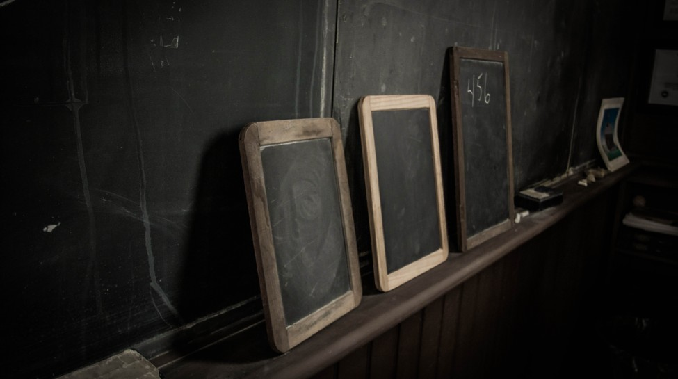 Inside the Linn Schoolhouse in Marion, Ohio. Photo: Todd Petrie / flickr