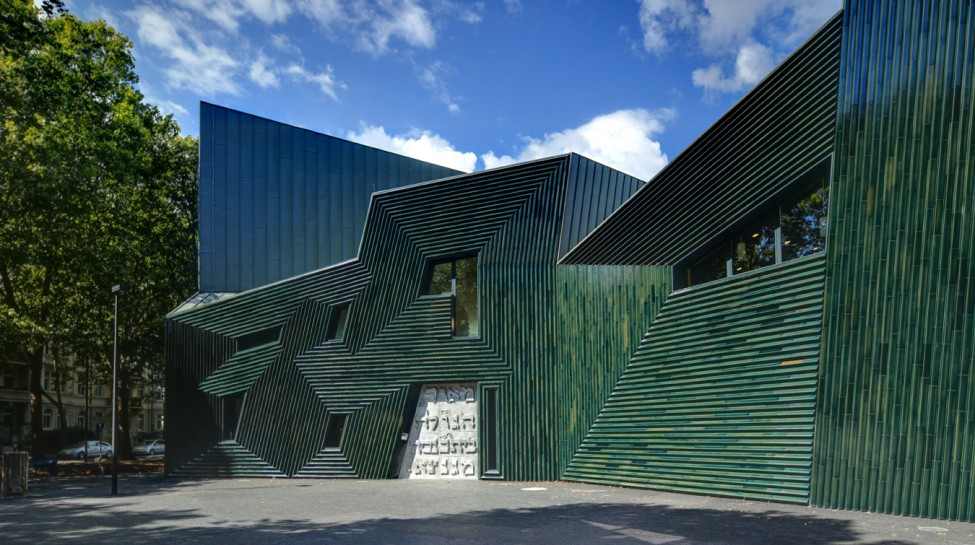 The Mainz Synagogue. Photo: Manuel Herz Architects / Wikimedia