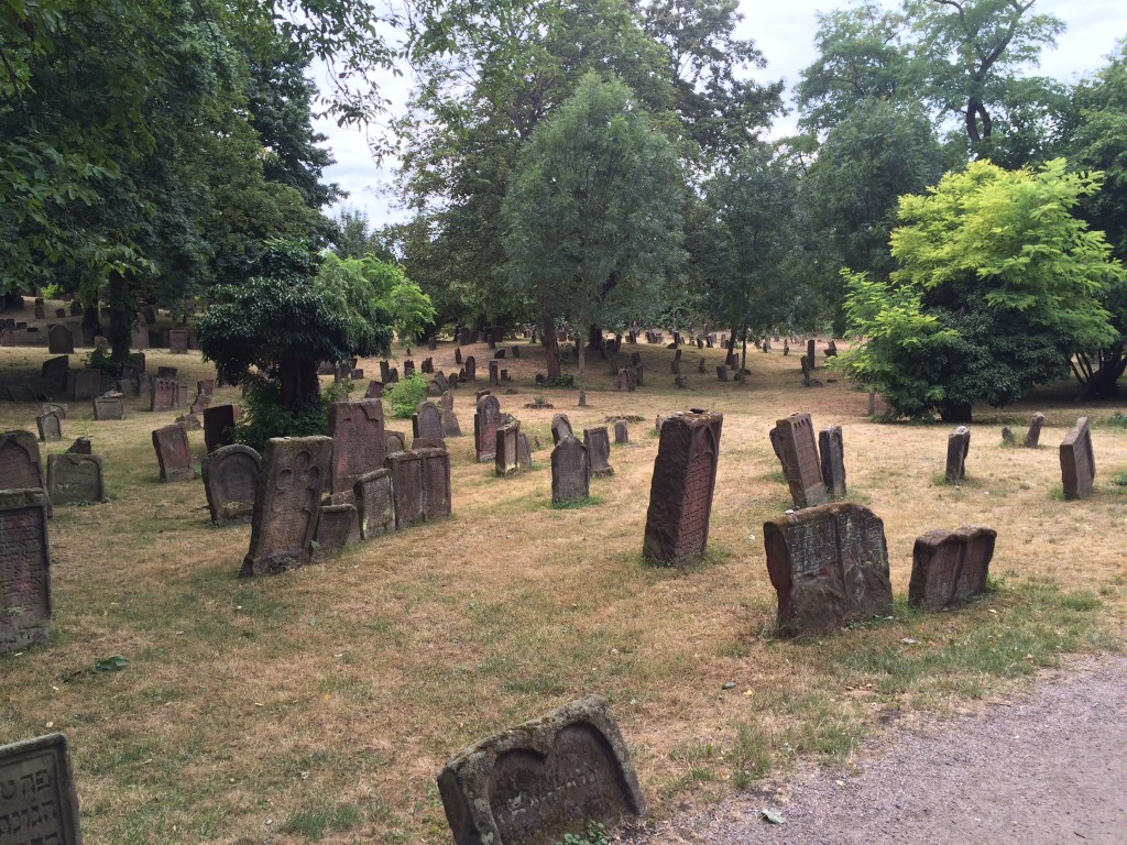 The Jewish Cemetery of Worms. Photo: Shany Mor / The Tower