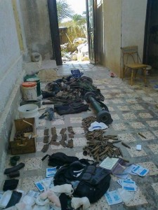 Weapons and ammunition found in Gaza tunnel during OPE / Israel Defense Forces