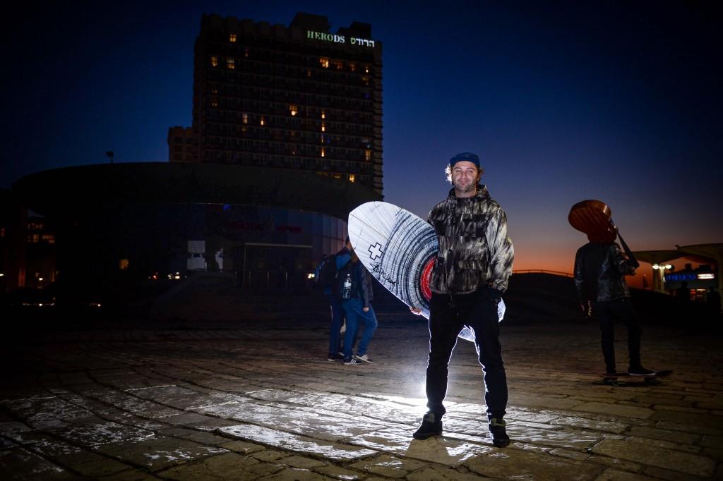 Arthur Rashkovan. Photo: Aviram Valdman / The Tower
