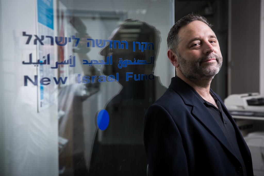 New Israel Fund CEO Daniel Sokatch. Photo: Hadas Parush / Flash90
