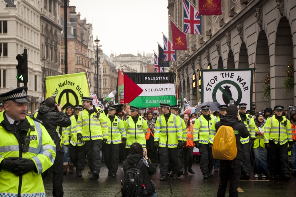 A 2012 pro-Palestinian rally in London. Photo: Cuddly Little Owl / flickr