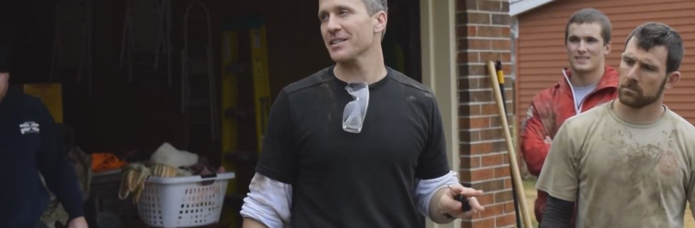 An image from an Eric Greitens campaign ad. Photo: Eric Greitens / YouTube