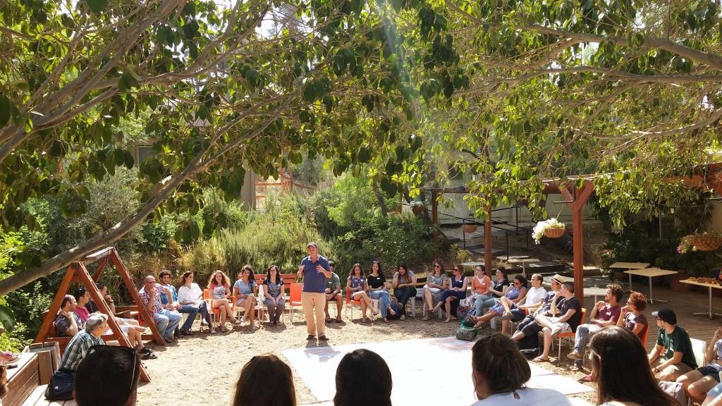 A class at Midreshet Ein Prat. Photo: Ein Prat / Facebook