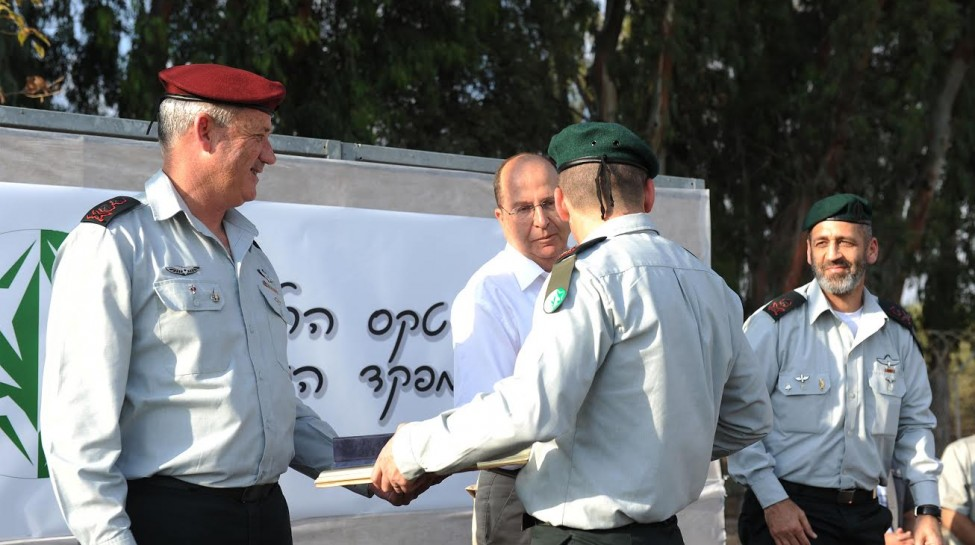 A graduation ceremony for Unit 8200, the IDF's decryption and signal intelligence unit that shares many connections to Talpiot.