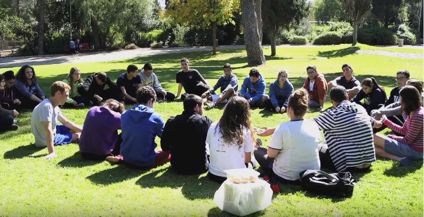 Students studying at the Shalom Hartman Institute. Photo: Shalom Hartman Institute / YouTube