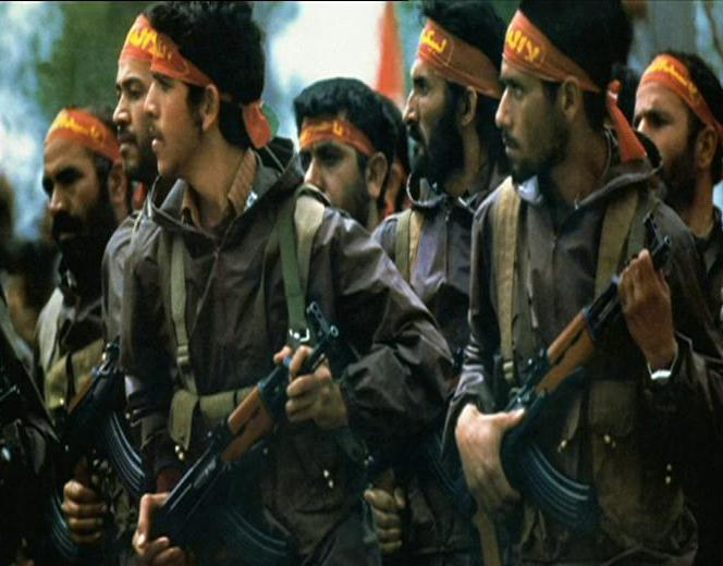 Troops from the Army of the Guardians of the Islamic Revolution, 1980. Photo: Wikimedia