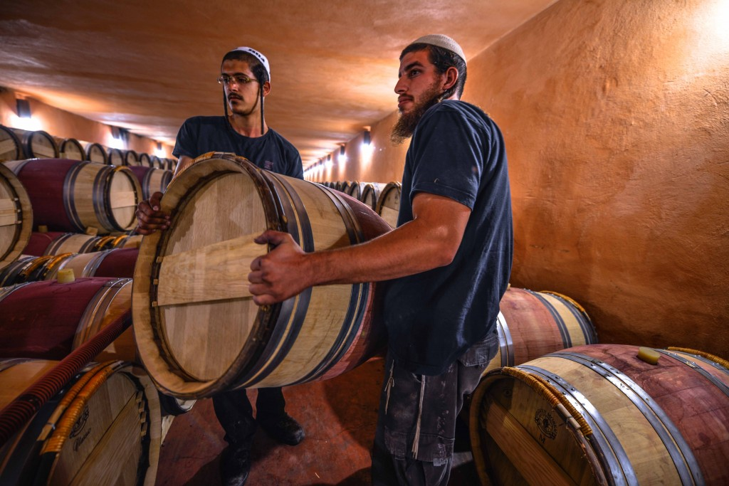 Many top Israeli wines are kosher, including Domaine du Castel's award-winning vintages. Photo: Aviram Valdman / The Tower
