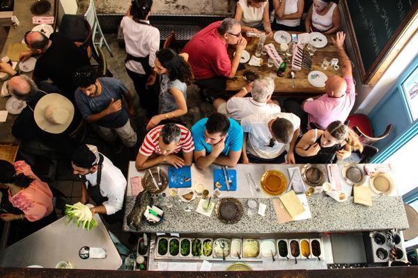 Machneyuda restaurant. Photo courtesy of Machneyuda