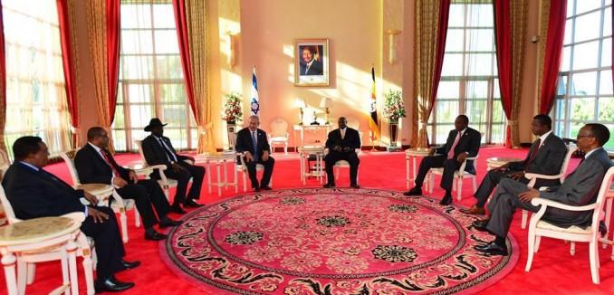 Netanyahu Africa trip