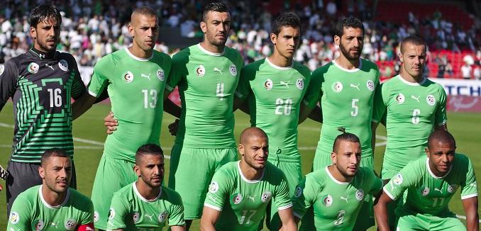 Algérie - Arménie - 20140531 - Equipe d'Algérie