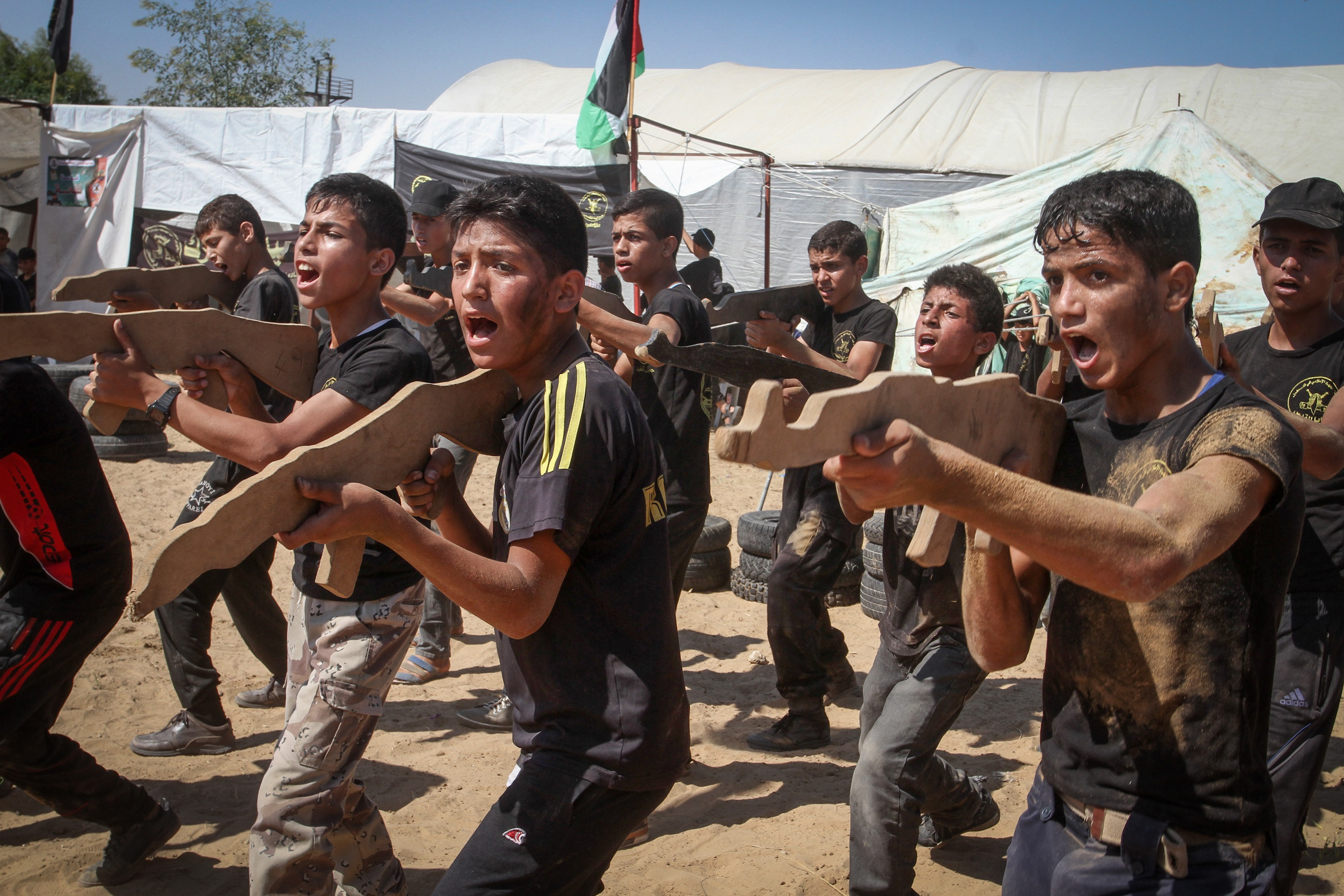 At Summer Camp, Hamas Raises the Next Generation of ...