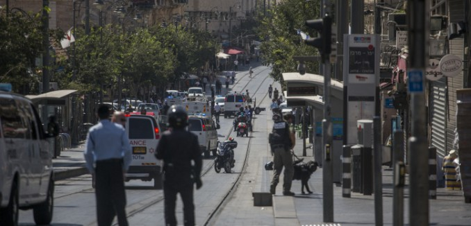 Major Palestinian Terror Attack on Jerusalem Light Rail Foiled by ...