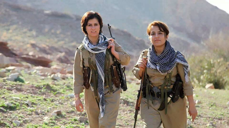 Female PDKI fighters. Photo: Kurdish Struggle / flickr