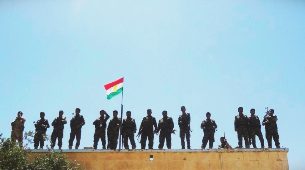 Kurdish Peshmerga soldiers. Photo: Kurdish Struggle / flickr