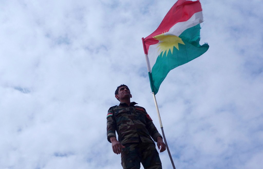 A Peshmerga soldier. Photo: Kurdish Struggle / flickr