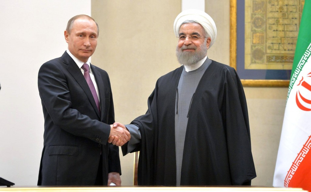 Russian President Vladimir Putin and Iranian President Hassan Rouhani meet in Tehran, November 23, 2015. Photo: kremlin.ru